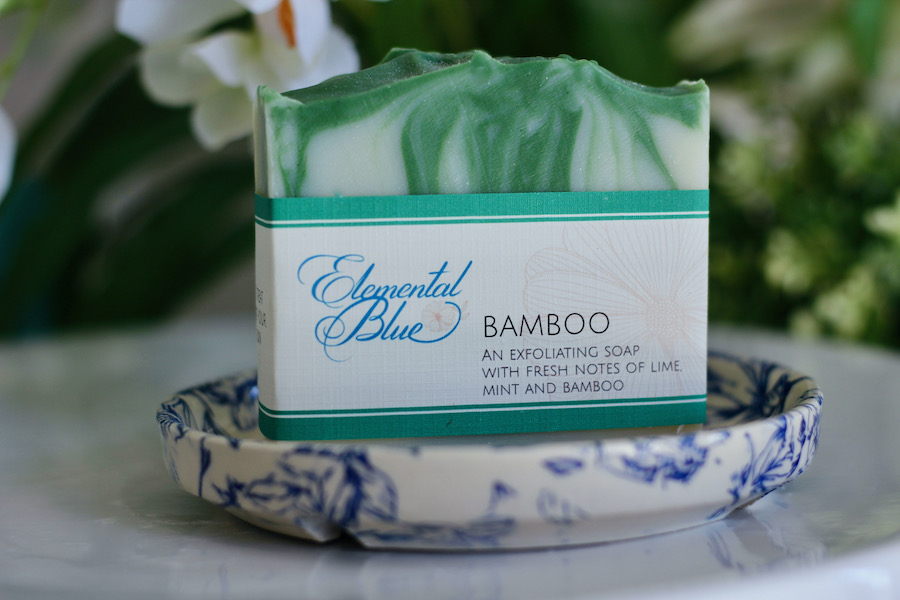 Bamboo Soap in a Dish