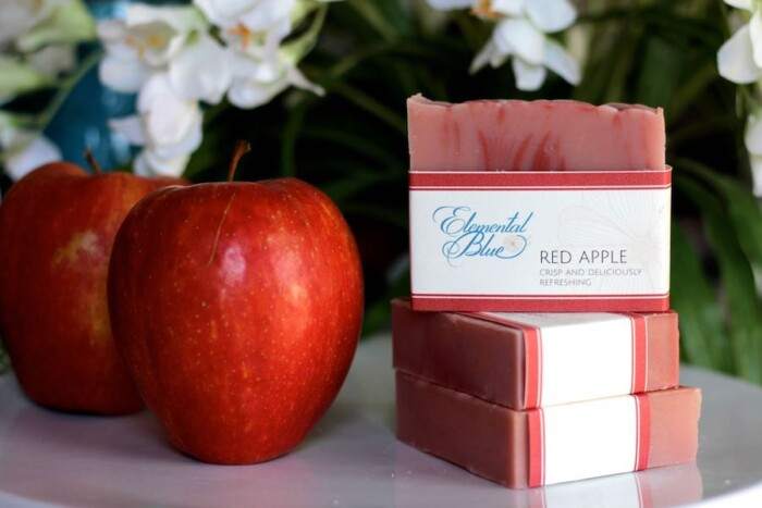 Red Apple Soap
