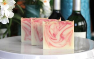 Wine inspired soap